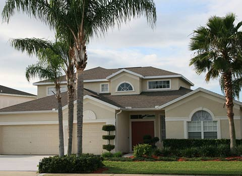 Home insurance protected house in Weston Florida